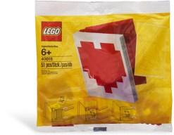 Offizielles LEGO Set 40015 zum Valentinstag 2011 im Polybag.