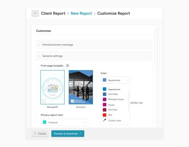 Sneak peek: new Client Report