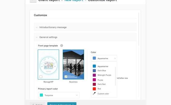 Sneak peek: new Client Report