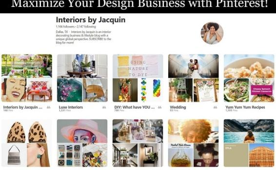 How to use Pinterest for interior designers