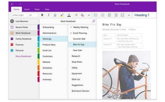 How to use OneNote to organize your business