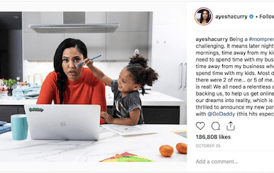 GoDaddy Q&A with Ayesha Curry: With Homemade, the mompreneur magnifies her mission to bring families together