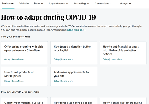 Learn about blog resources to help you and your business cope during the COVID-19 crisis