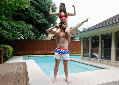 Lauren McManus with her partner Alex Nerney of Avocadu