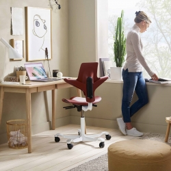 Office furniture makers are getting creative about the environment