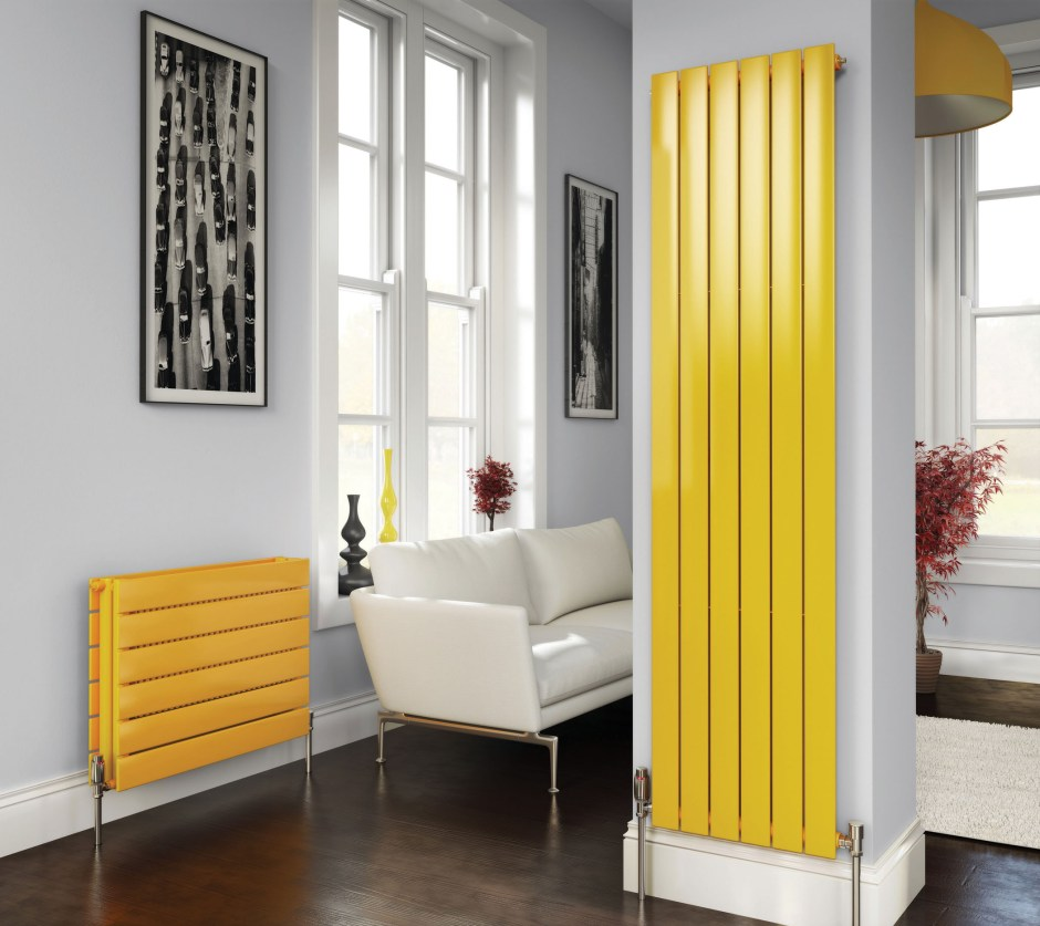 Stelrad's Concord design radiators. Available in horizontal, vertical and up to 36 colour options_SM