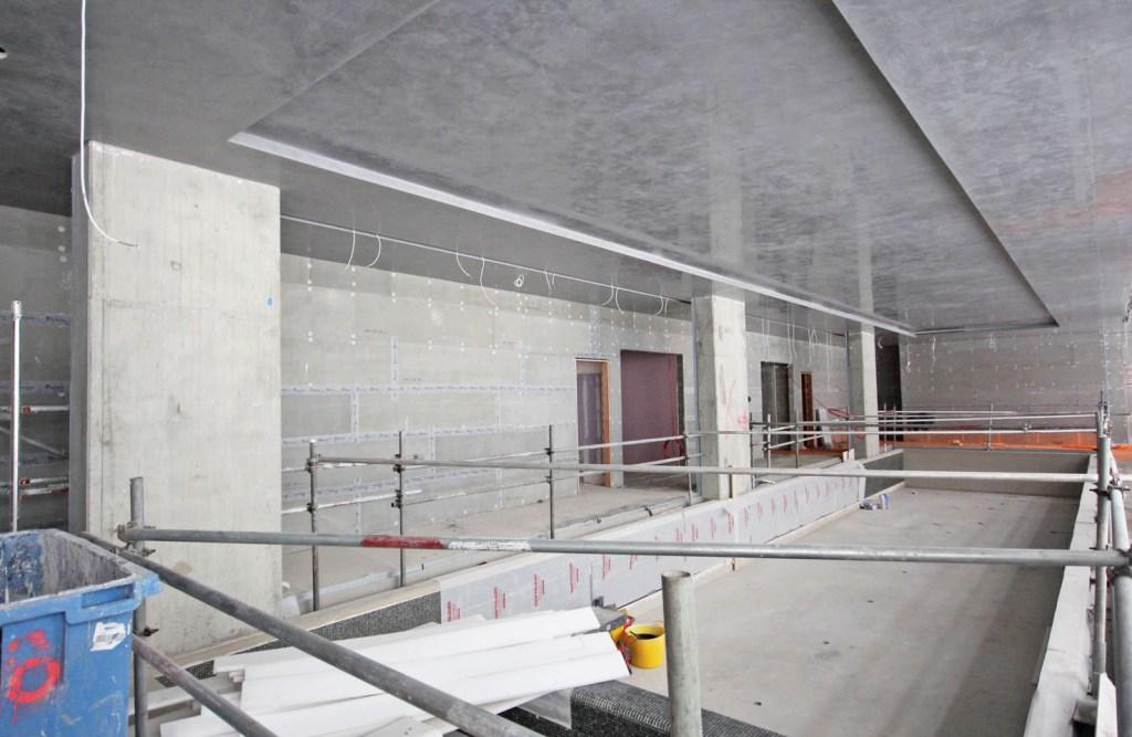 A residential development by Barratt London has used Marmox Multiboard