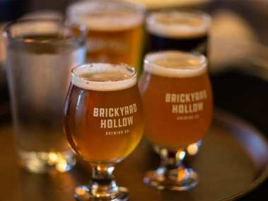 craft beer form brickyard hollow brewery