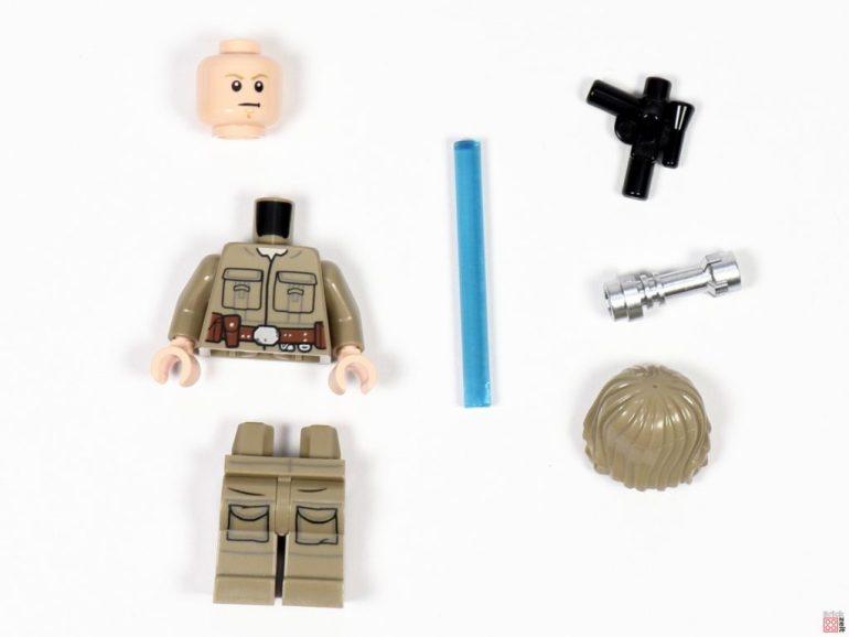 Bespin Luke Skywalker, individual parts in a polybag |  © Brickzeit