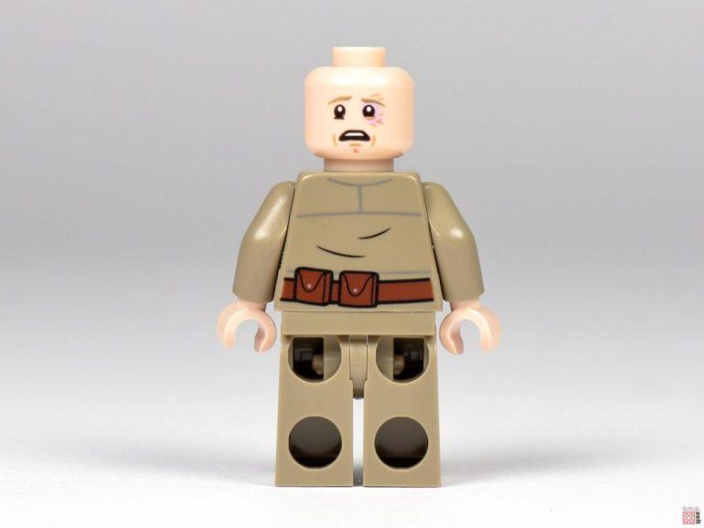 Bespin Luke Skywalker hairless with black eye |  © Brickzeit
