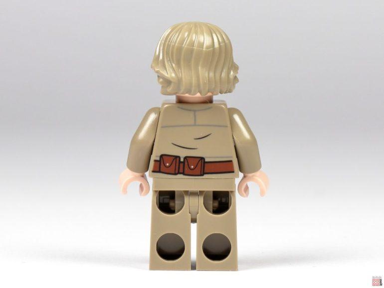 Bespin Luke Skywalker, back side |  © Brickzeit