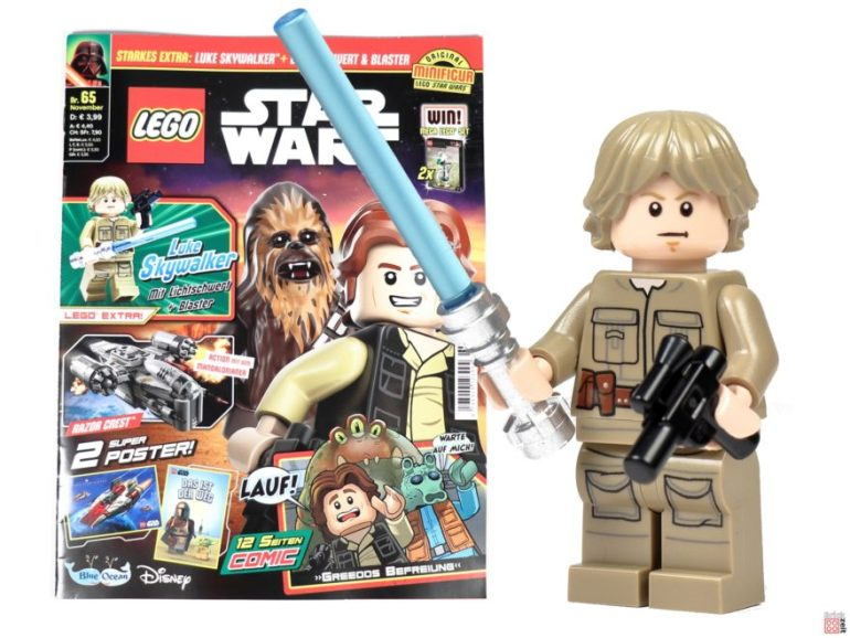LEGO Star Wars Magazine No. 65 with Bespin Luke Skywalker |  © Brickzeit