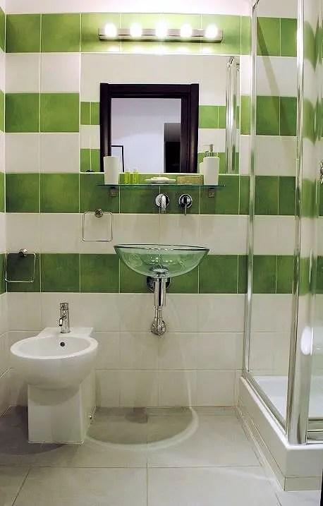 La salle de bain verte  Ides Dco et photo  BricoBistro