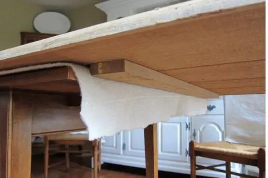 Agrandir une table  BricoBistro
