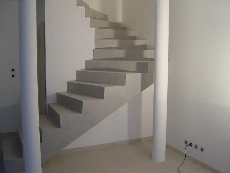 Fabriquer Un Escalier En Bton BricoBistro