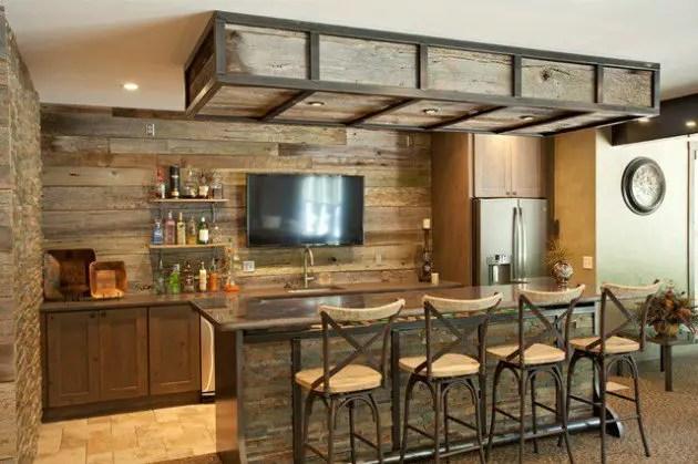 Des ides de bar moderne pour votre maison  BricoBistro