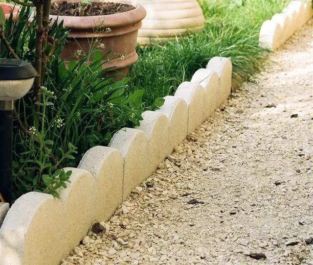 Bordure Jardin Beton Imitation Bois - Décoration de maison idées de ...