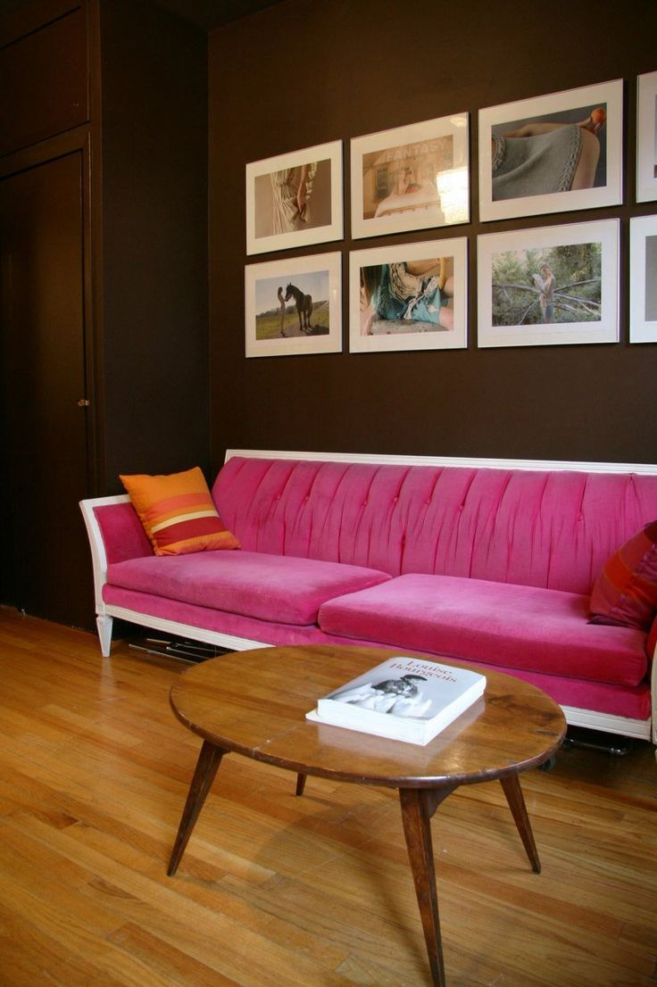 Hot Pink Living Room Accessories