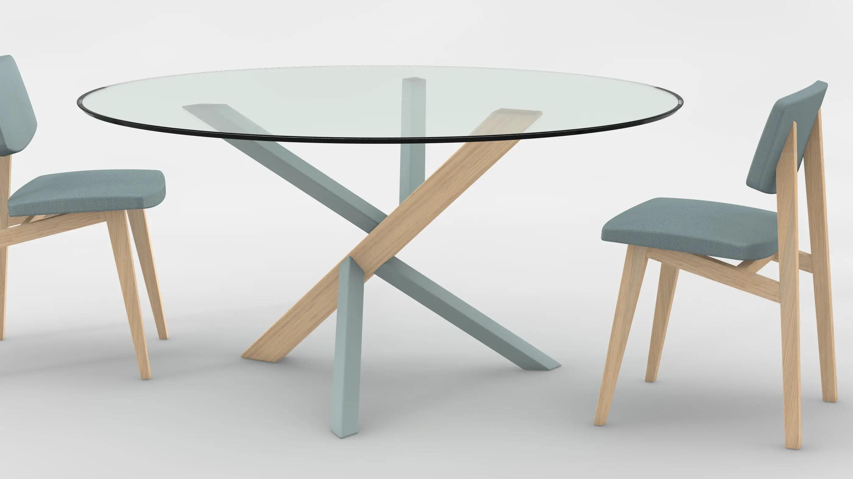 Meubles Et Dco La Tendance Des Tables Rondes En Verre