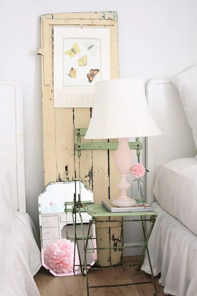 Des ides pour dcorer sa chambre avec un style shabby chic  BricoBistro
