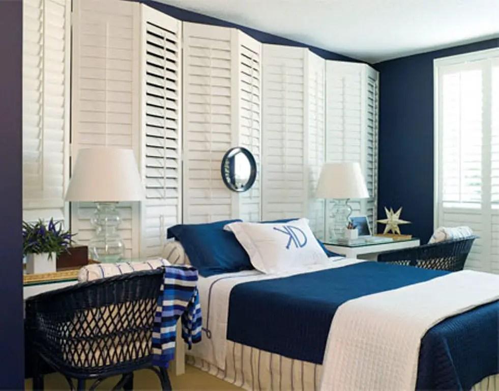 12 ides pour une dcoration de chambre en bleu marine  BricoBistro