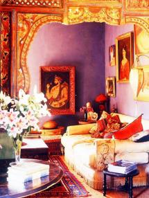 Indian Inspired Living Room Decor