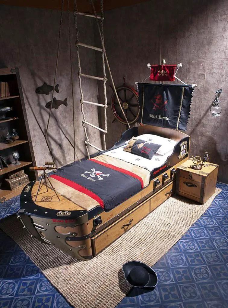 11 lits au design des bateaux pirates pour la chambre de votre garon  BricoBistro