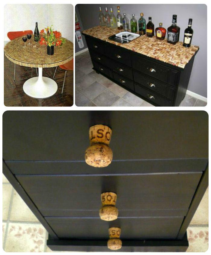 30 ideas para reciclar tapones de corcho - Ideas para reciclar muebles ...