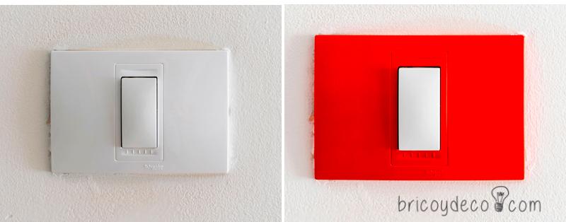 renovar las plaquetas de los interruptores