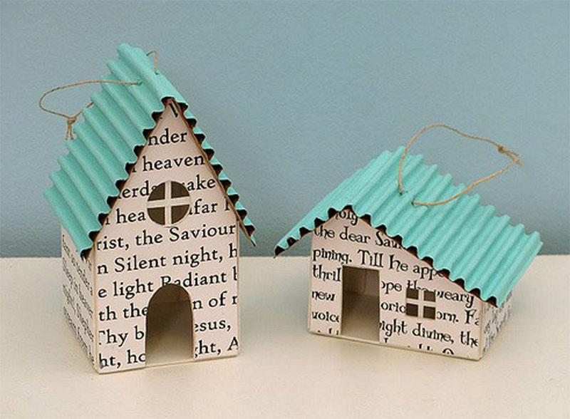 22 Ideas De Decoracion De Navidad Con Papel De Periodico Handbox