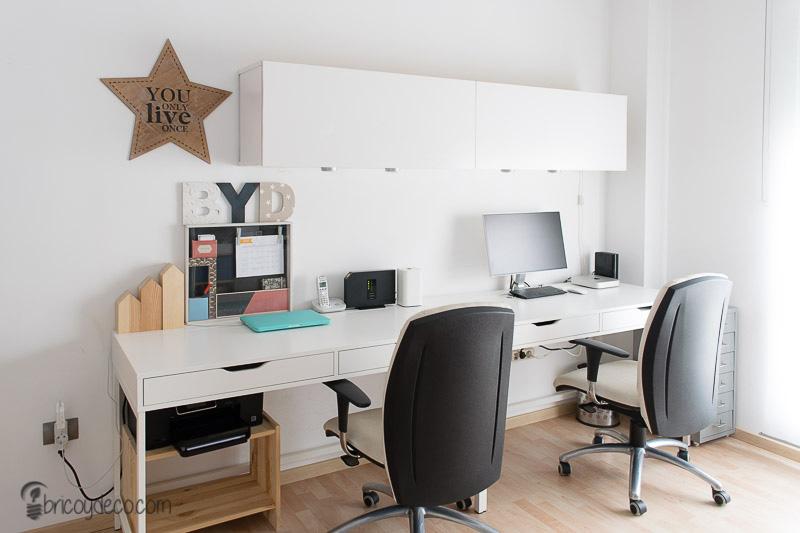 renovar con pintura el despacho