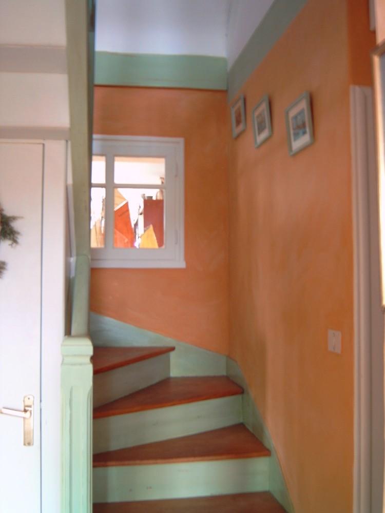 Relook escalier en bois faire vousmme votre peinture