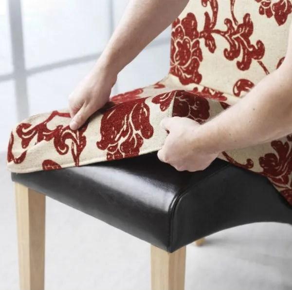 dining room chair seat covers patterns indoor cushions bricolaje 10 » cómo hacer fundas para sillas de comedor y bebé
