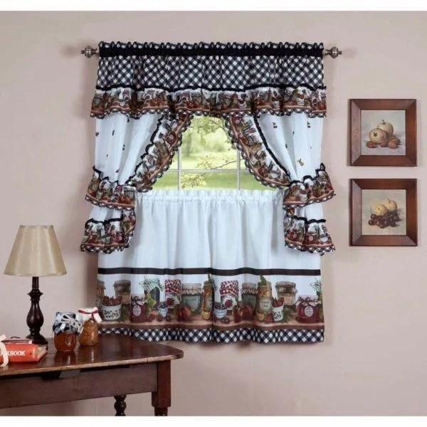 Cmo hacer una cortina para la cocina  Bricolaje10com
