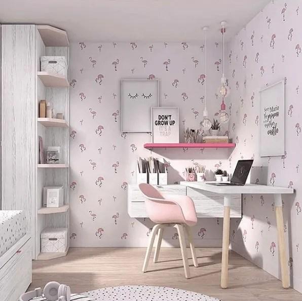 Ideas para decorar una habitación juvenil 2020 papel pintado