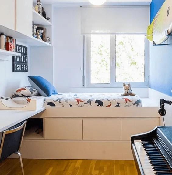 Ideas para decorar una habitación juvenil 2020 luz natural y blanco