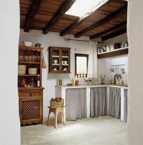 Interiores de casas rsticas 40 fotos de diseo y