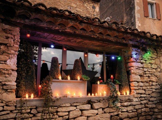 Decoracin de Navidad para jardines y patios 40 fotos e ideas