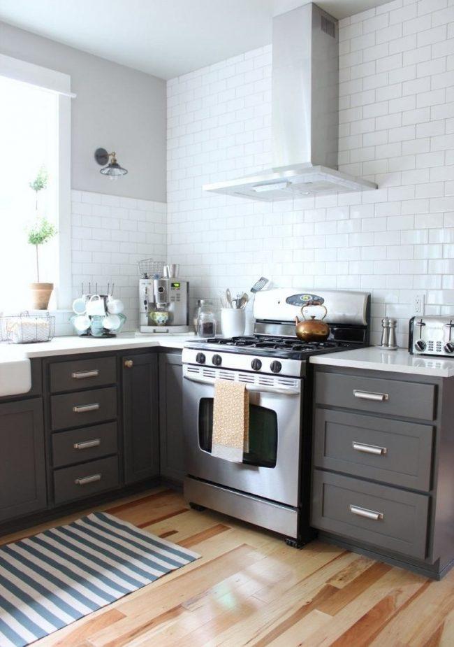 Cocinas grises 40 fotos e ideas modernas y fabulosas