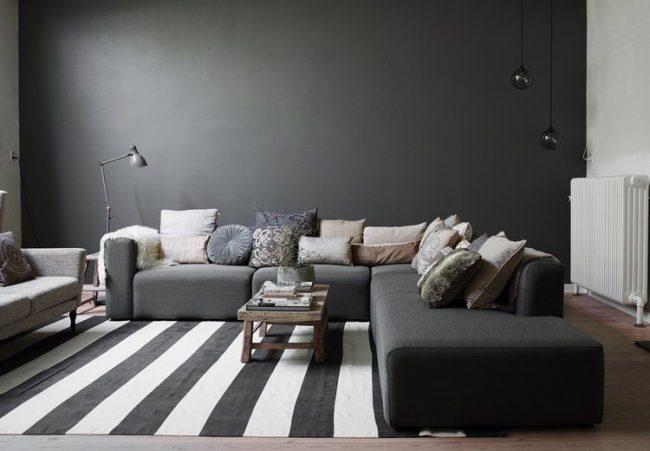 Paredes grises 60 fotos y consejos de decoracin  Brico y