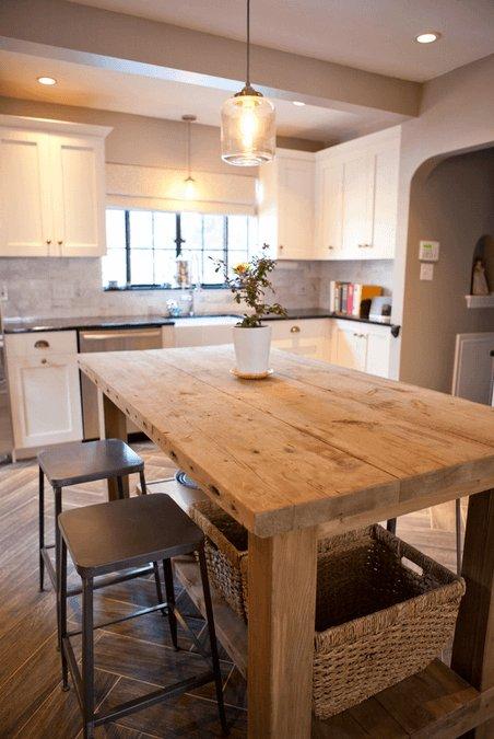 Cocinas con isla 40 fotos ideas y diseos modernos  Brico