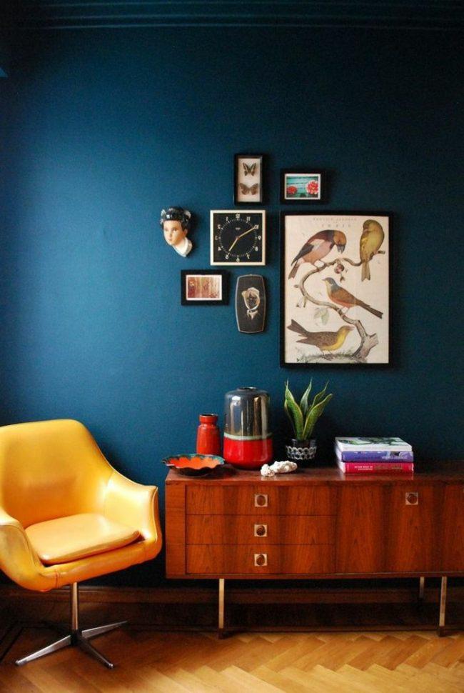 Combinacin de colores para interiores segn la teora del