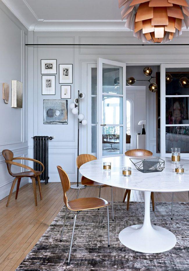70 Comedores vintage modernos e ideas de decoracin