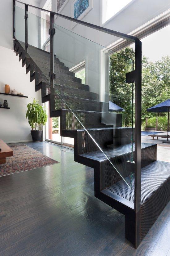 Escaleras modernas de interior 120 imgenes e ideas de