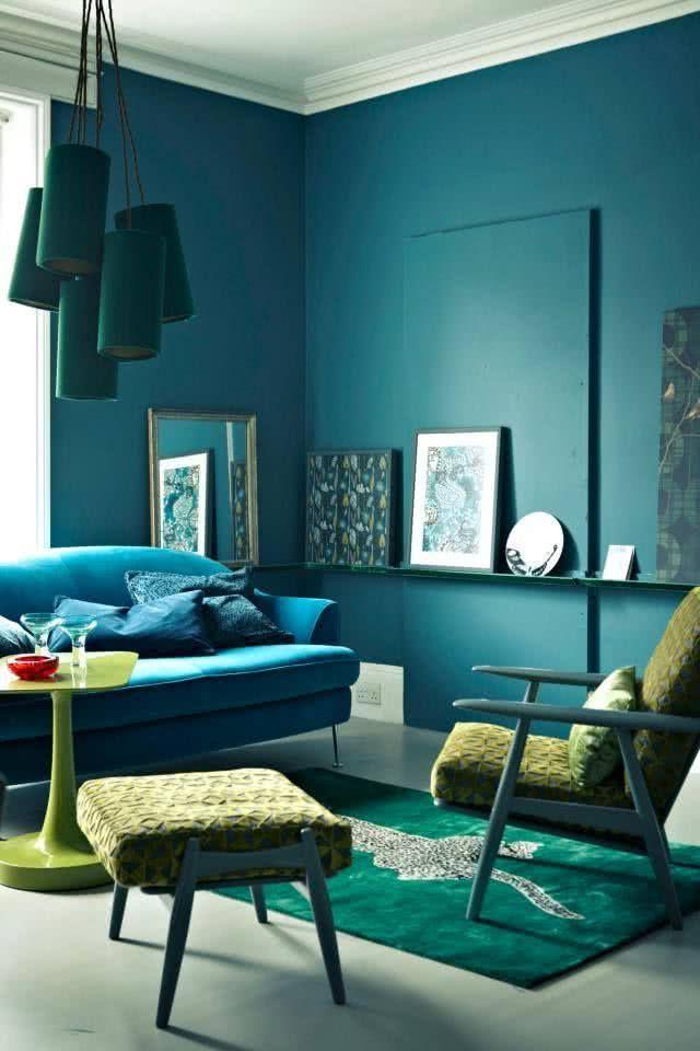 Colores para salas 2018 modernos 40 fotos de combinaciones perfectas  Brico y Deco