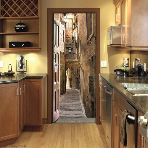 Decorar la casa fcil simpticos vinilos para puertas