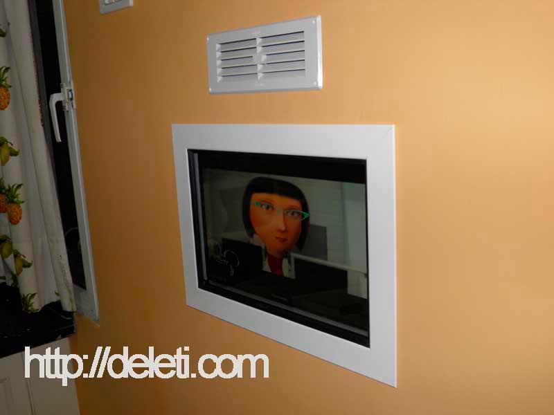 Como empotrar un Tv en la pared  Bricomanualidades