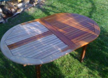 Nettoyer Un Salon De Jardin En Plastique Vert   Table Basse De ...