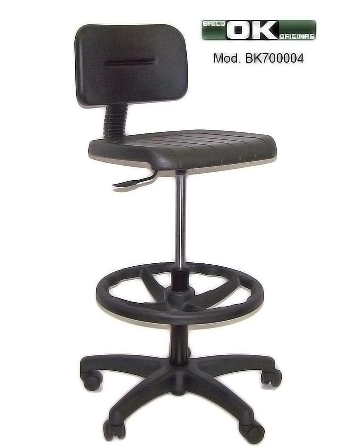 Hacer de una silla de oficina un taburete alto para uso en