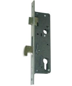 Cerradura Iseo 741540-28 mm. Frontal Cromo Resbalón